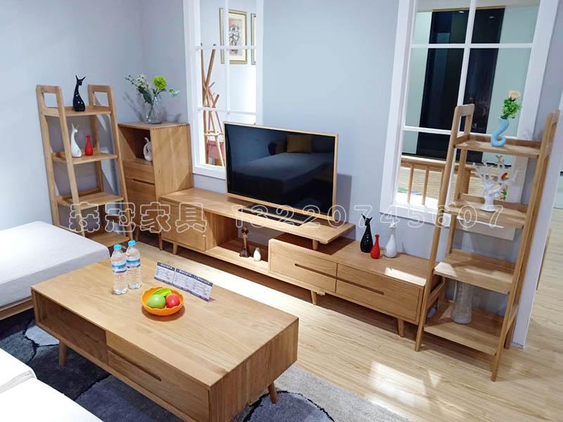 沙发茶几电视柜挪威边架组合实木凯发平台app风