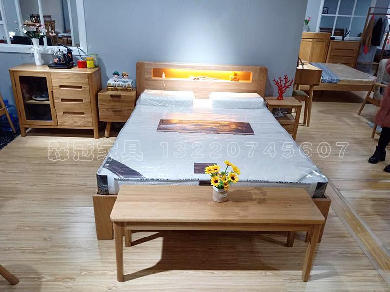 夜光床 带夜灯感应开关双人床